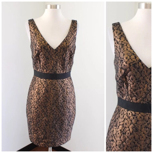 328e5172a4e54 Trina Turk Dresses | Bronze Cocktail Dress | Poshmark